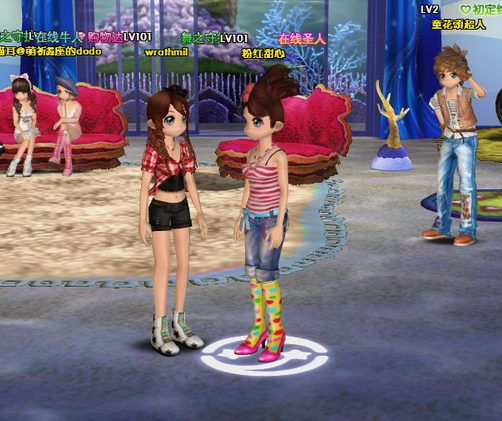 在劲舞团sf这款游戏里面都有哪些游戏道具g